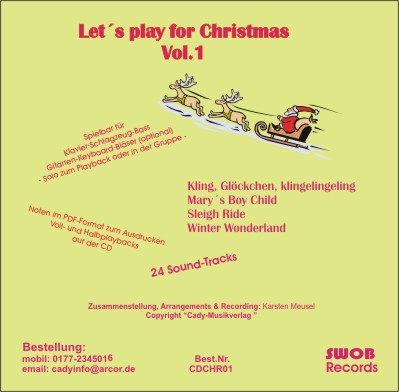 Let´s play for christmas Vol. 1